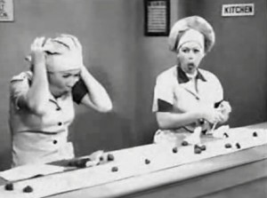 I Love Lucy chocolate factory scene parodied in My Little Pony