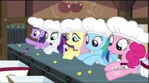 My Little Pony:  Friendship is Magic - The Last Roundup - Sorting cherries parody of I Love Lucy Chocolate factory scene