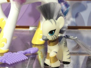 My Little Pony Toy - Glow in the dark Zecora at Toy Fair 2012