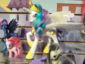 My Little Pony Toy - White Princess Celestia at Toy Fair 2012