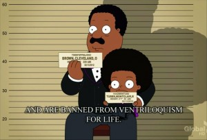 The Cleveland Show References My Little Pony TSRDFSPPRAJ