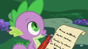 My Little Pony: Friendship is Magic - Cathy Weseluck voice of Spike