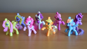 My Little Pony McDonald's 2012 Happy Meal toys