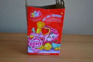 My Little Pony McDonald's 2012 Happy Meal toys - Box