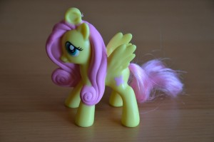 My Little Pony McDonald's 2012 Happy Meal toys - Fluttershy