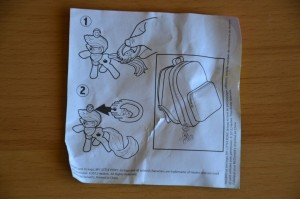 My Little Pony McDonald's 2012 Happy Meal toys - Instructions