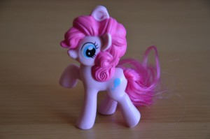 My Little Pony McDonald's 2012 Happy Meal toys - Pinkie Pie