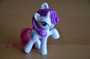 My Little Pony McDonald's 2012 Happy Meal toys - Rarity