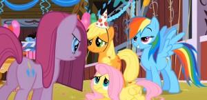My Little Pony: Friendship is Magic - Pinkie Pie, Applejack, Rainbow Dash and Fluttershy