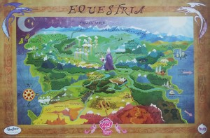 My Little Pony: Friendship is Magic - Map of Equestria