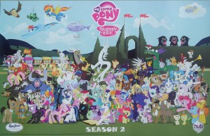 My Little Pony: Friendship is Magic - Season 2 cast poster