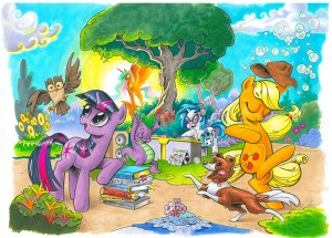 My Little Pony issue 1 covers A and B by Andy Price