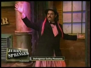 Tim dressed as Pinkie Pie on Jerry Springer