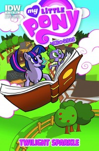My Little Pony: Friendship is Magic comic micro-series cover - Twilight Sparkle