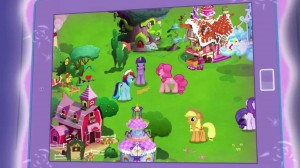 My Little Pony mobile phone game - Everyone but Fluttershy
