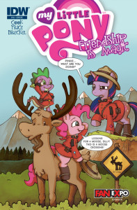 My Little Pony comic Fan Expo variant cover